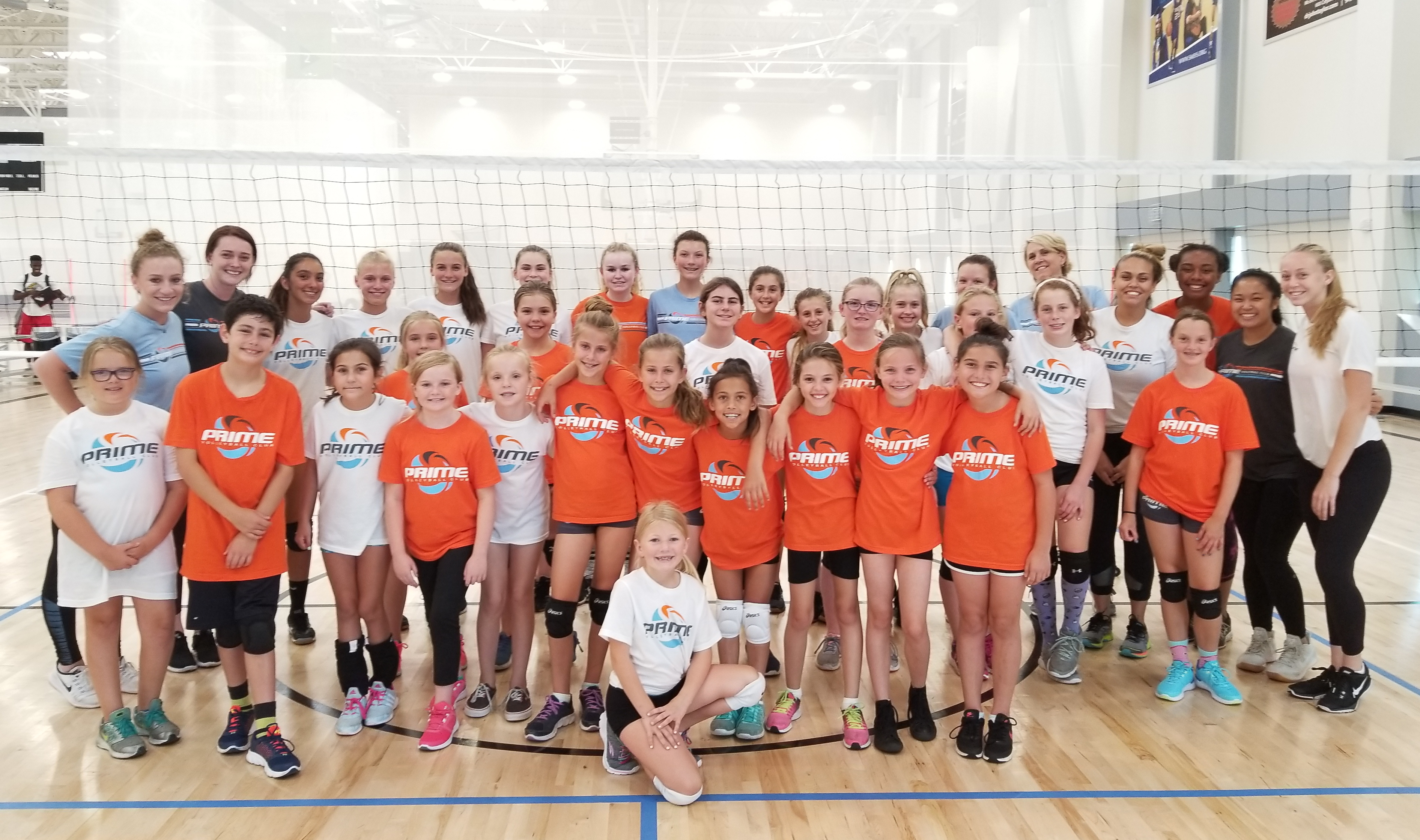 Camps And Clinics Prime Volleyball Club