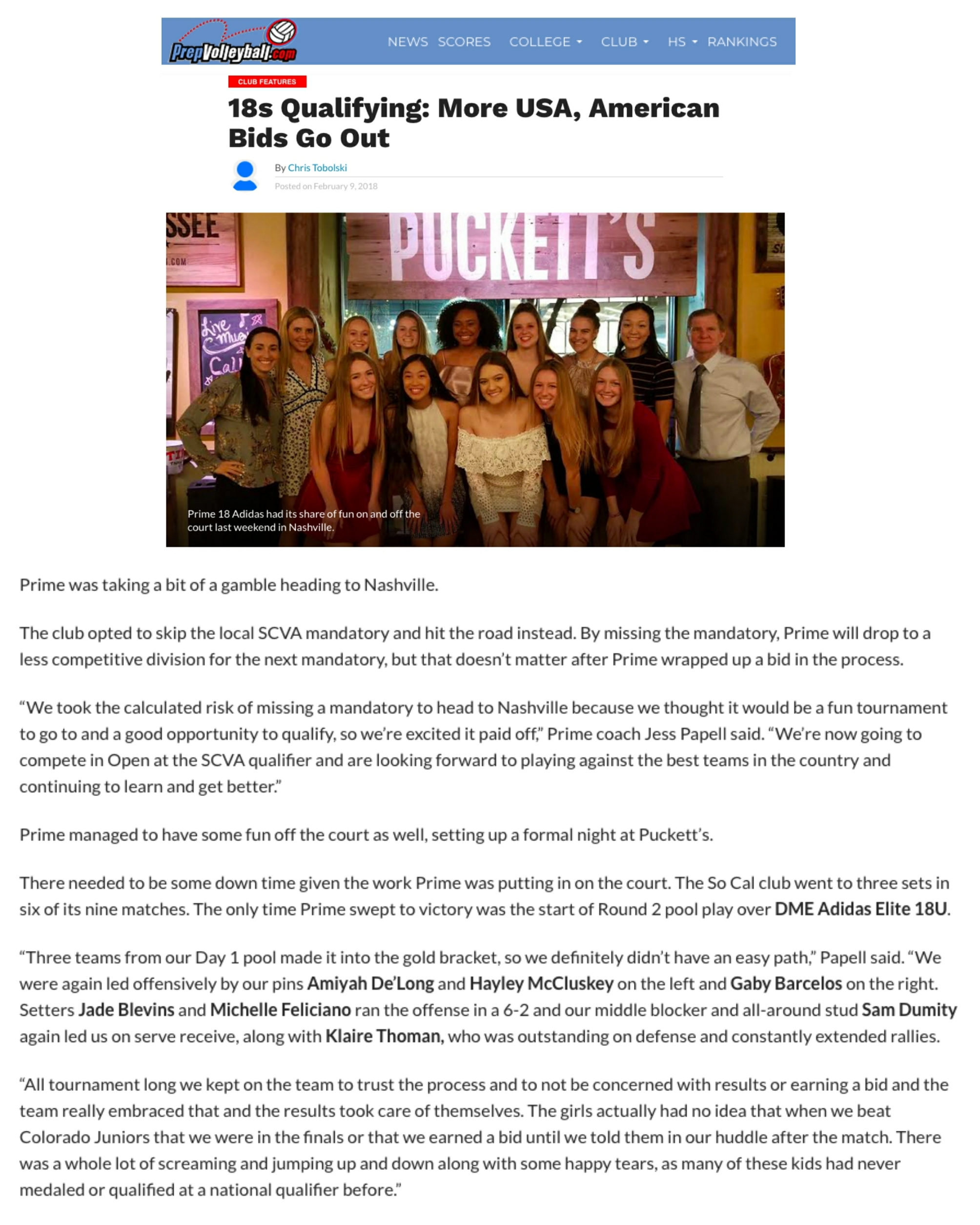PrepVolleyball Article MSC